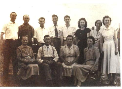 Allen Britt Family