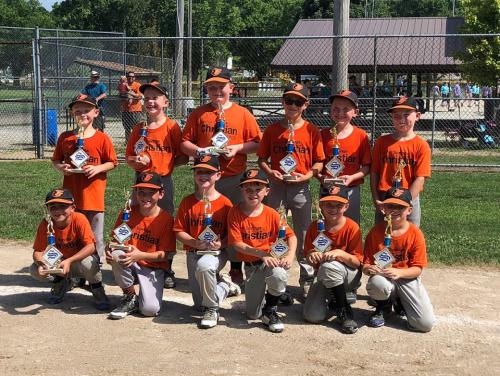 Kaden 2nd place minors tourney