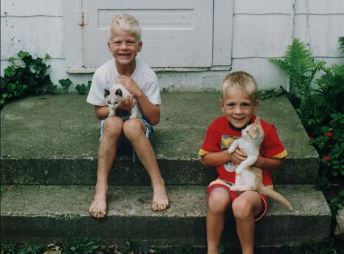Kam & Kyler June 1993
