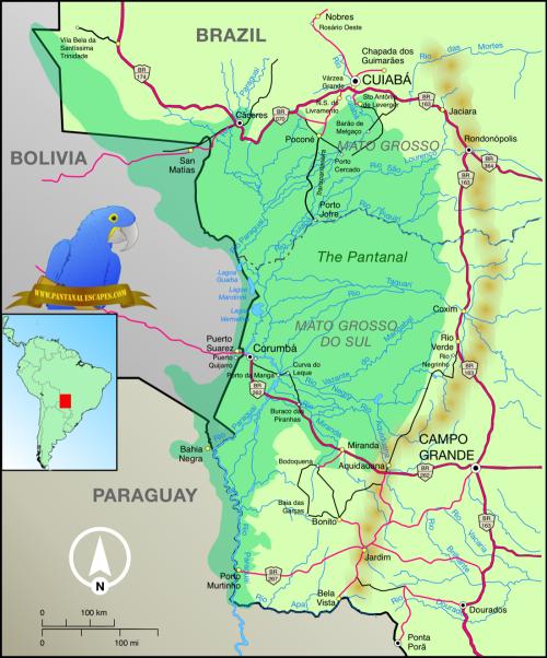 Pantanalmap