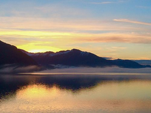 Whittier Sunrise