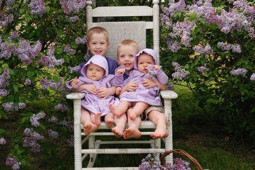 Lads, Lassies, & Lilacs